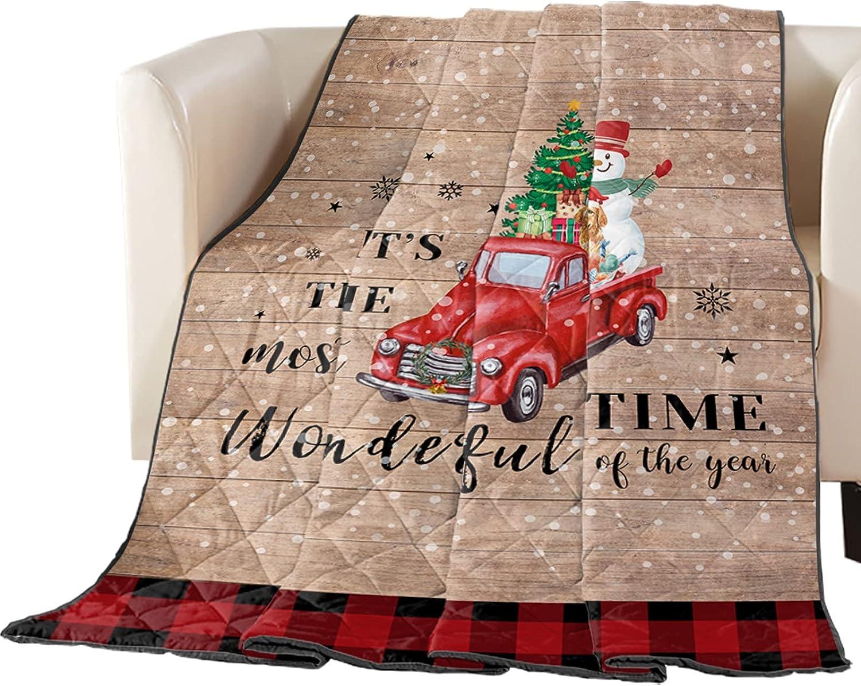 DecorLovee Bedding Duvets Truck Load OFFer Snowman Gif Max 53% OFF Christmas Tree