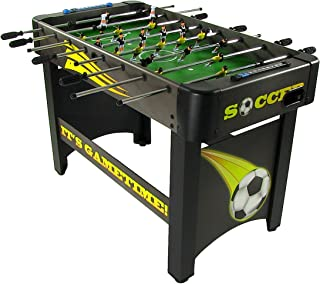 Sunnydaze 48 Inch Foosball Table, Sports Arcade Soccer for Pub Game Room, Indoor Use