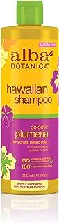 Alba Botanica Hawaiian, Plumeria Shampoo, 12 Ounce (Pack of 2)
