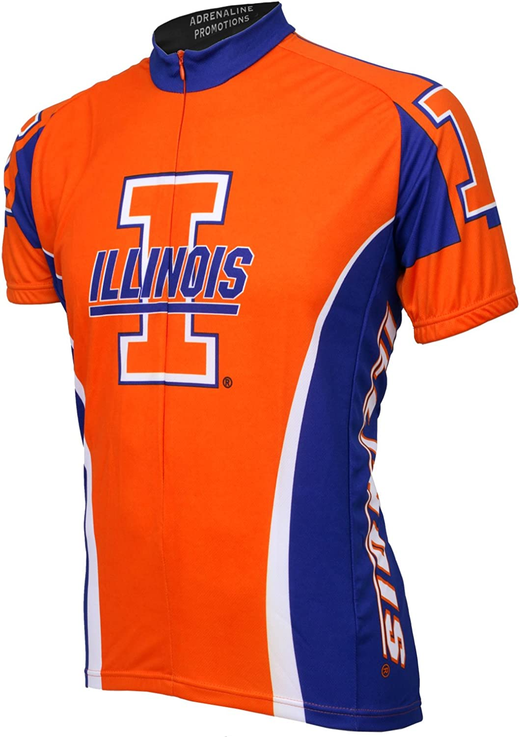 Super popular specialty store Adrenaline Promotions Indianapolis Mall Illinois Fighting Illini Cycling Jersey