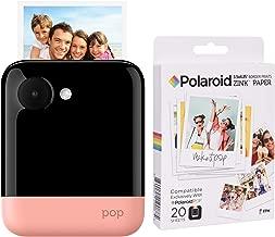 Polaroid POP 2.0 2 in 1 Instant Print Digital Camera (Pink) Zink Paper Kit