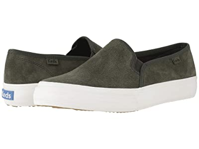 Keds Double Decker Suede (Forest Green Suede) Women