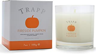 Trapp Seasonal Collection 7oz Poured Scented Candle, Fireside Pumpkin