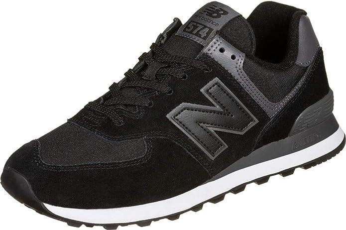 New Balance ML574 Men's Sneaker Black-Gray
