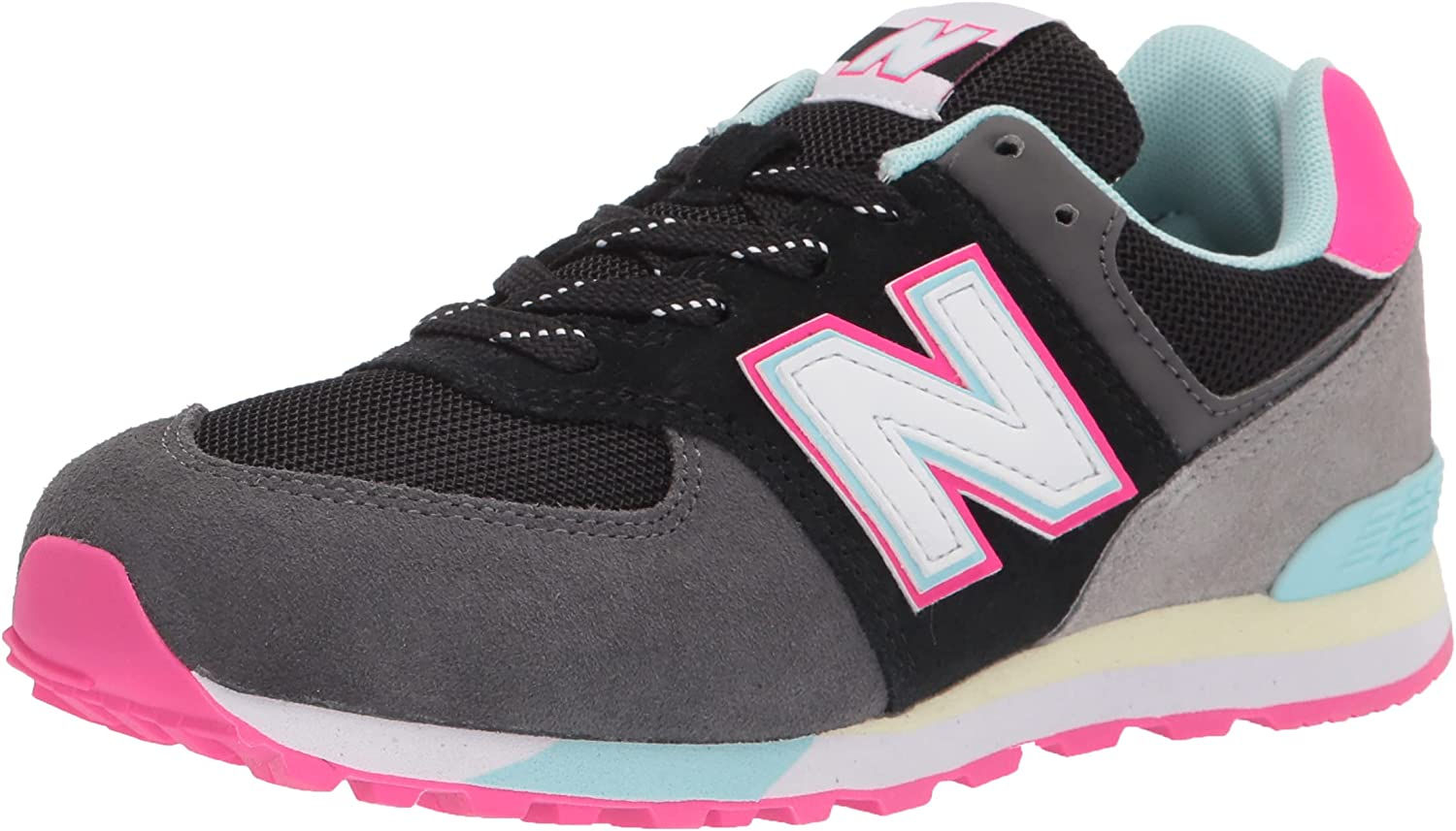 New Reservation Balance Kid's 574 V1 Baltimore Mall Lace-Up Sneaker