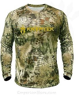 Kryptek Hyperion Long Sleeve Camo Shirt - Lightweight,...