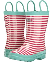 Hatley Kids - Pink Stripes Rain Boots (Toddler/Little Kid)