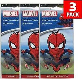 Plasticolor Marvel Spider-Man Car Accessories - Spider-Man Air Freshener Wiggler (3)