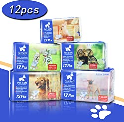 Pet Soft Disposable Female Puppy Dog Diaper