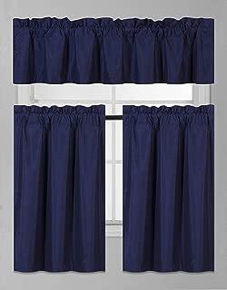 Best kitchen curtains navy Reviews