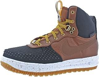 Boys Lunar Force 1 Duckboot Fashion Sneakers Black 5.5 Medium (D) Big Kid