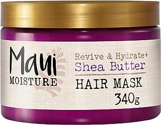 Maui Moisture Revive & Hydrate Shea Butter Haarmaske, für trockenes beschädigtes Haar, 340 g