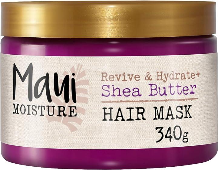 Maschera al burro di karite 340 g   maui moisture 6210100