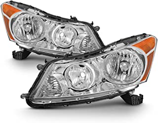 ACANII - For 2008 2009 2010 2011 2012 Honda Accord 4Dr Sedan Headlights Headlamps 08-12 Driver + Passenger Side