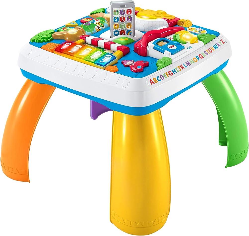 Fisher-price tavolino attività della città con 3 livelli di gioco che crescono con il bambino, con luci, suoni DRH33