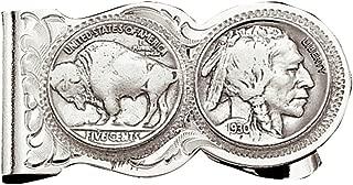 Montana Silversmiths Men's Native American Nickel Money Clip - Mcl50