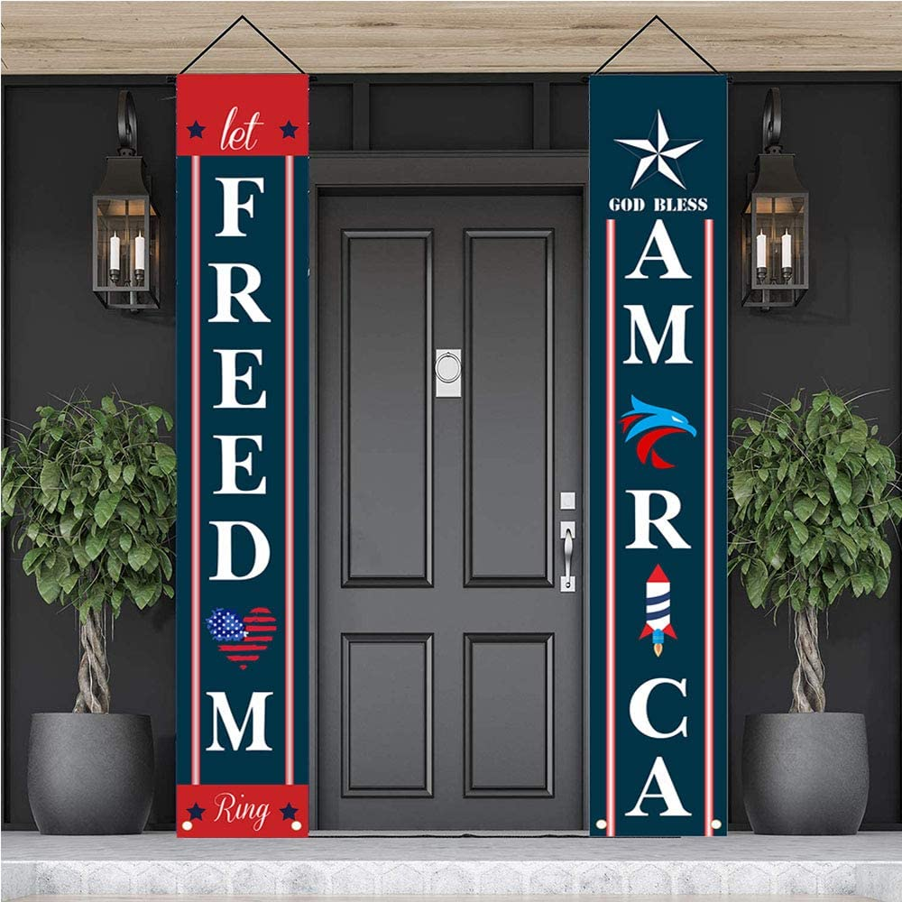 BEDEONE Independence Day Patriotic Industry No. 1 Fixed price for sale 4th Decorations July Banners