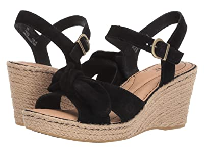 Born Monticello (Black Suede) Women