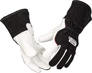 Lincoln Electric DynaMIG HD Professional MIG Welding Gloves | Comfort & Heat Resistance | 2XL | K3806-2XL