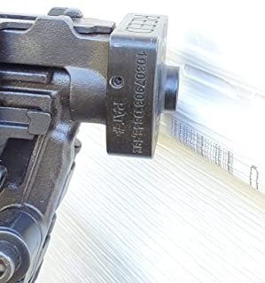 Vinyl Siding Nailer Adapter ~No More Bruised Finger From Hand Nailing ~ Install Vinyl Siding Up to 4X Faster~ Fits Bostitch RN46-1 Roofing Gun ~ Steel Nail Adaptor for Quick and Easy Pneumatic Nailing