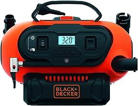 Black & Decker BDCINF18N-QS 11.0 Bar Compressor/Luchtpomp, 12V/230V-aansluiting of 18V accu
