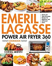 Emeril Lagasse Power Air Fryer 360 Cookbook