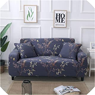 Elastic Sofa Covers for Living Room Sofa Towel Tight Wrap All Inclusive Slip Resistant Sofa Cover Strech Sofa Slipcover,Colour11,2-Seater 145-185Cm