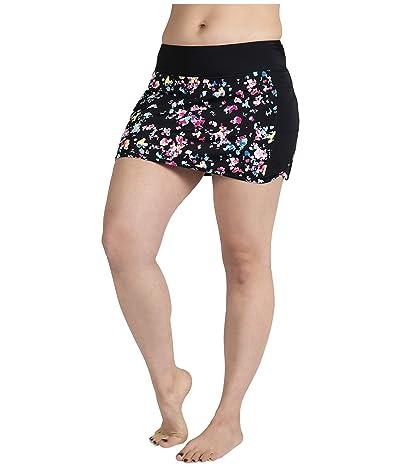 Skirt Sports Swim Skirt (Dark Delight Print) Women