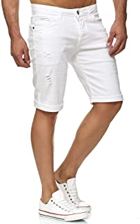 ad8b4853b2e5d Redbridge Hommes Jean Short Denim Jeans Shorts Coton Été Bermuda Court  Pantalon