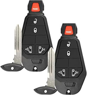 Discount Keyless Replacement Van Doors Uncut Smart Remote Fob Key Compatible with M3N5WY783X, IYZ-C01C (2 Pack)