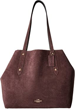 COACH Suede Large Market Tote