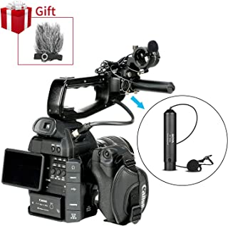 BOYA BY-M4OD Phantom Power XLR Omnidirectional Lavalier Microphone Clip-On Mic for Canon Sony Panasonic Camcorders Zoom H4n H5 H6 TASCAM Audio Recorders