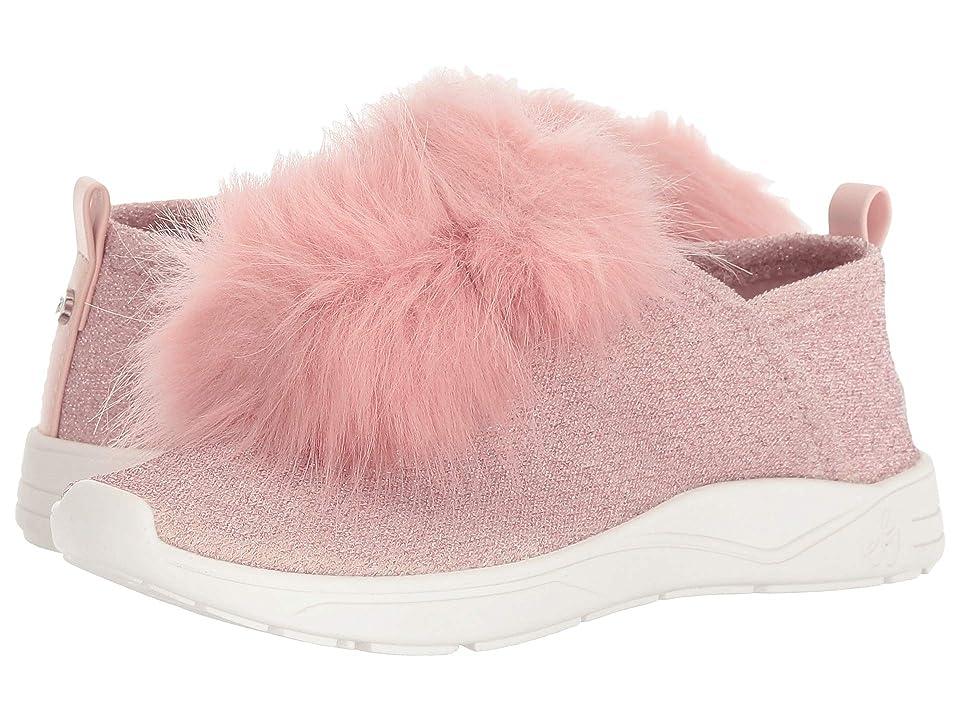 Sam Edelman Kids Ariana Pom (Little Kid/Big Kid) (Blush Shimmer) Girls Shoes