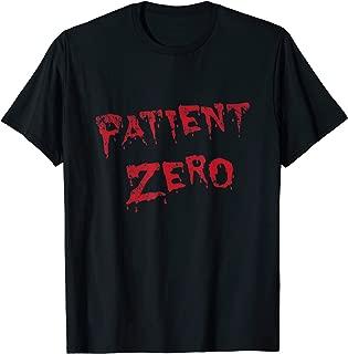 Patient Zero Shirt Funny Halloween Costume Zombie Apocalypse