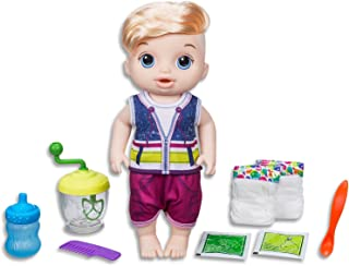 Baby Alive Dolls - Sweet Spoonfuls Blonde Baby Boy - Real Baby Sounds - Interactive  Kids Toys - Ages 3+