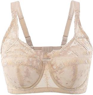 5a33422fb7 Yayu Women Signature Lace Full Coverage Bra Breastfeeding Bra Thin Plus Size  Nursing Bra