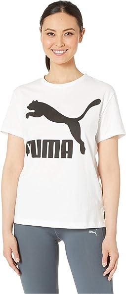 PUMA White/Black