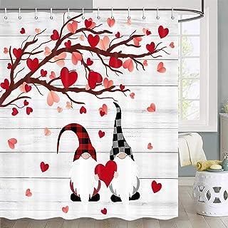 amazon com valentine shower curtain