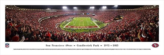 San Francisco 49ers - Final Game at Candlestick Park - Panoramic Print