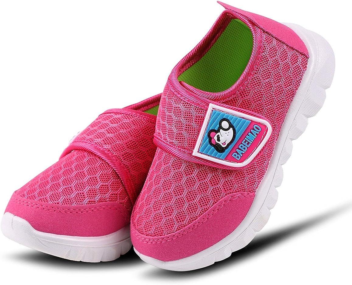 DADAWEN Babys Boys Girls Breathable Mesh Lightweight Cute Casual Sneakers Athletic Walking Running Shoes