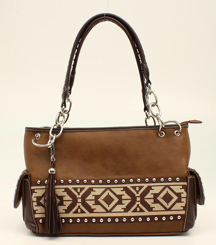Blazin Roxx Western Handbag Womens Satchel Shania Brown N7587302