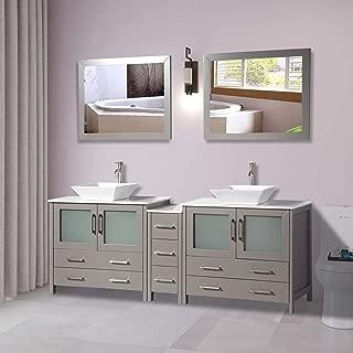 Best 36 inch bathroom vanity combo Reviews