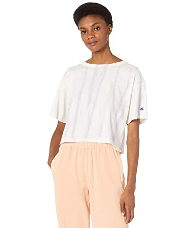 Champion LIFE Lightweight Cropped T-Shirt Feather Dye