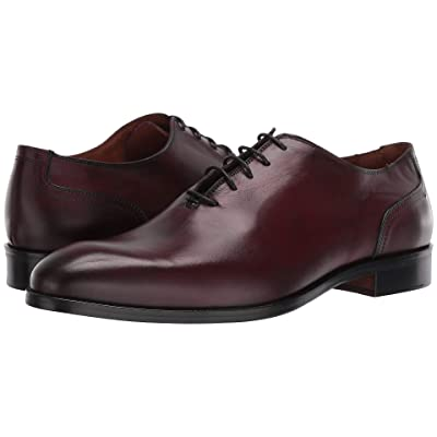 Massimo Matteo Plain Toe 19 (Burnished Bordo) Men