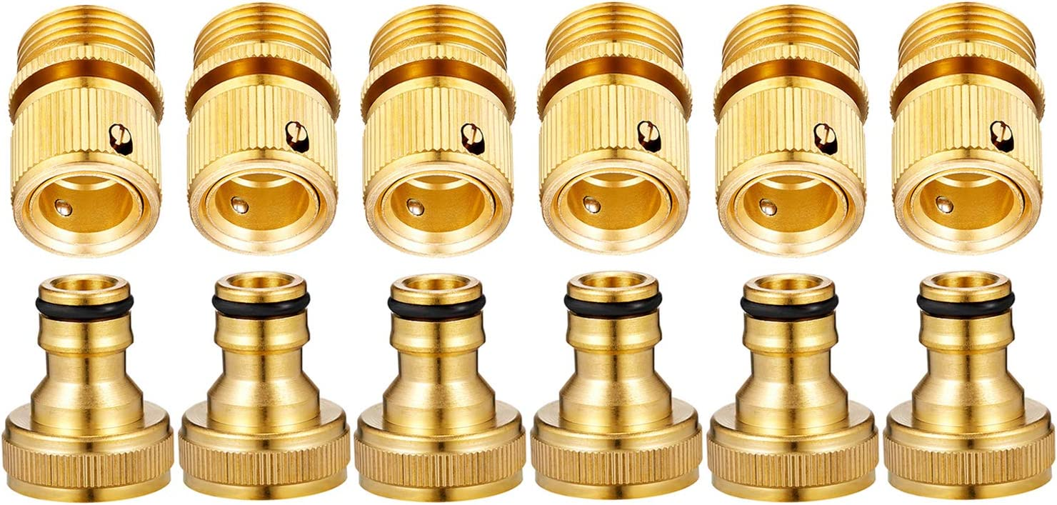 Deluxe Zinger Garden Special Campaign Hose Quick Connect Fittings 3 GHT 4
