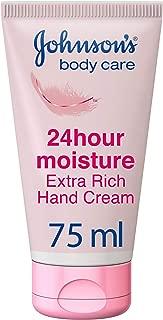 JOHNSON'S, Hand Cream, 24 HOUR Moisture, Extra Rich, 75ml