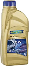 Ravenol J1C1003 SAE 75W Manual Transmission Fluid - MTF-3 Full Synthetic (1 Liter)