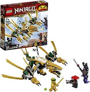 LEGO Ninjago - Dragón dorado set de ninjas