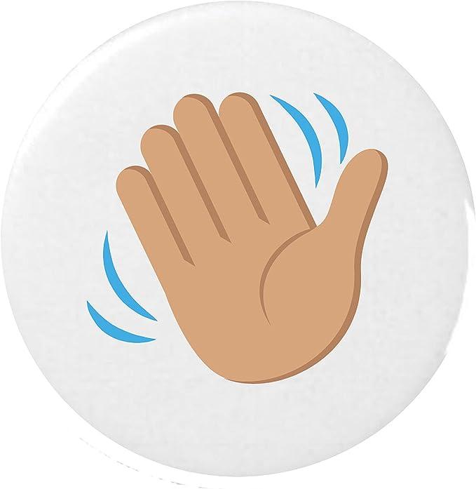 Hand emoji winkende Winkende Hand