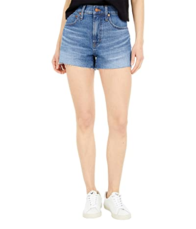 Madewell The Perfect Vintage Jean Shorts in Balsam Wash (Balsam Wash) Women